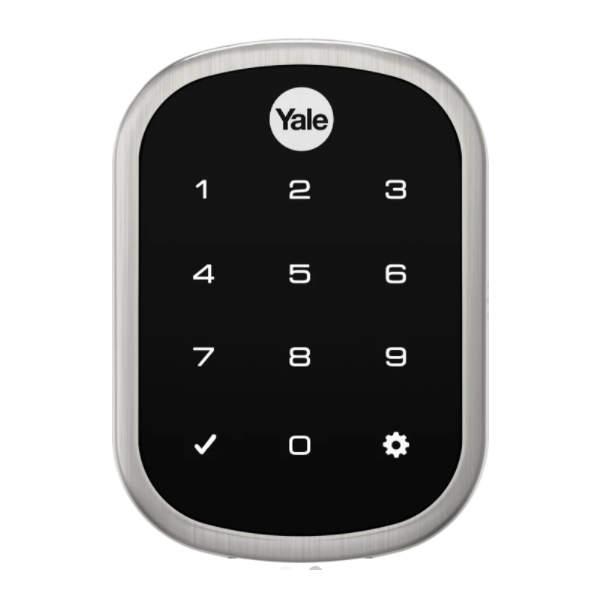 Serrure de porte avec code Yale free Touch