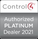 Badge marchand autorisé Control 4 platinum 2021